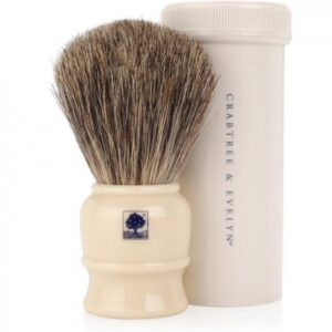 Crabtree & Evelyn travel shave brush