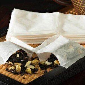 empty filter tea brewing bags 5 X 3.75
