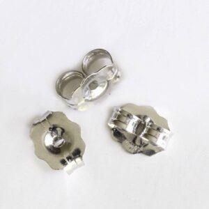 14K earrings backs pair
