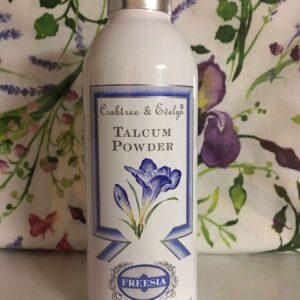 CRABTREE & EVELYN FREESIA talc body powder