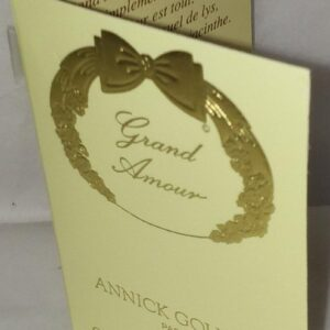 Annick Goutal grand amour vial sample