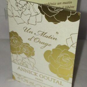 Un Matin D'orage by Annick Goutal vial sample