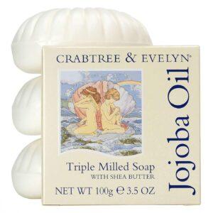 Crabtree Evelyn jojoba soap set