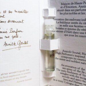 Annick Goutal vetiver eau de toilette vial sample