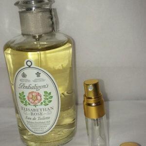 Penhaligon's elisabethan rose eau de toilette sample vial