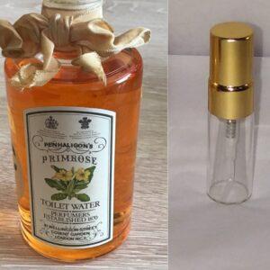Penhaligon's primrose eau de parfum sample vial 3 ml bottle