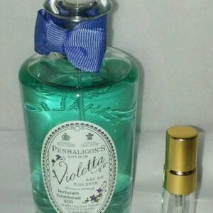 Penhaligon's violet violetta eau de toilette sample vial 3 ml bottle