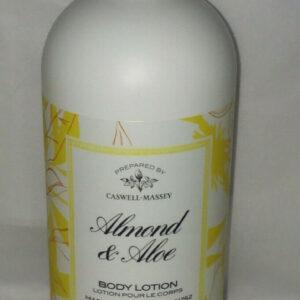 Caswell-Massey almond aloe hand & body